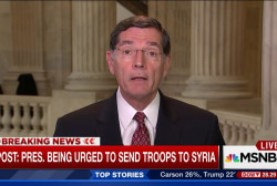 Secy. Kerry briefs senators on Syria plans