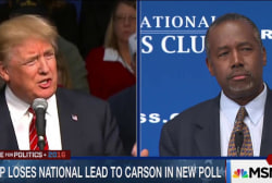 Trump attacks Carson on Medicare