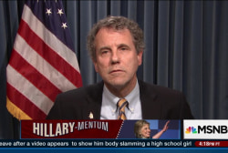 Sen. Sherrod Brown backs Hillary Clinton