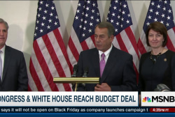 Congress & White House reach budget deal