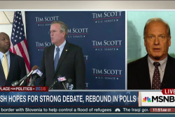 Bush hopes for a strong debate