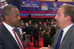 Ben Carson details tax plan, reacts to debate