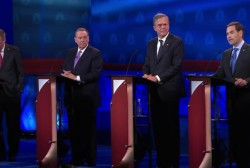 Candidates spinning debate performances