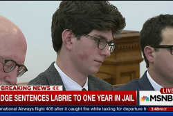 Judge sentences Labrie to one year