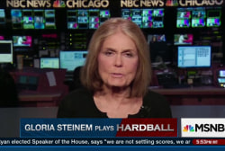 Gloria Steinem weighs in on Donald Trump