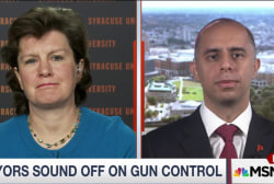 Mayors sound off on gun violence