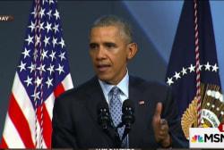 Obama pushes back on the 'Ferguson effect'