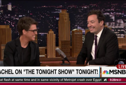 Rachel Maddow on the Tonight show tonight!
