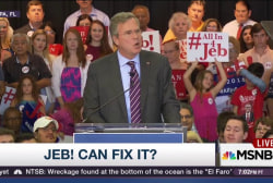 Is Jeb! causing havoc for GOP establishment?