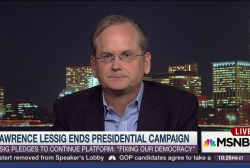 Lawrence Lessig: Let's transform this...