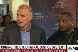 The bipartisan effort on criminal justice...