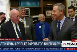 O'Malley works to gain traction