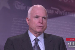John McCain tackles 'paid patriotism'