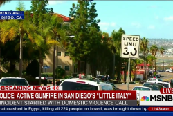Police: Active gunfire in San Diego