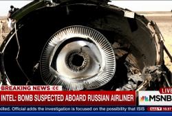 US Intel: Bomb suspected aboard Russian plane
