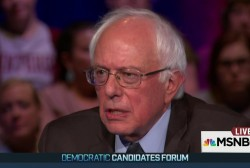 Sanders highlights civil rights record