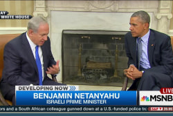 Civil meeting for Obama and Netanyahu