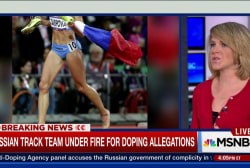 Russian athletes face doping accusations
