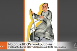 SCOTUS Notice gets physical with RBG