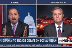 Graham Shut Out of GOP Debate