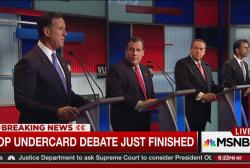 'Kids' table' debate highlights
