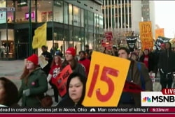 Minimum wage protests sweep the nation