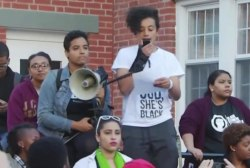 Racial strike prompts student protests