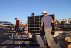 Solar energy takes on New York City
