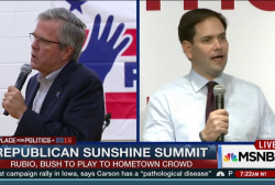 Rubio, Bush to compete for hometown crowd