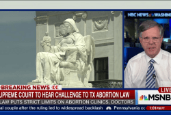 Strict TX abortion law to be heard by SCOTUS