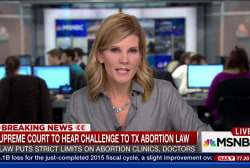 Strict TX abortion law challenged