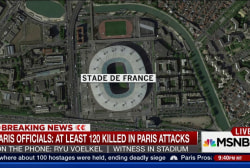 Witness describes hearing blasts near stadium