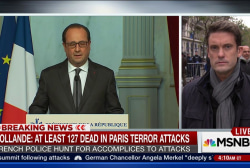 Hollande: Islamic State group behind attacks
