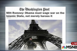 Mitt Romney: Obama must wage war on ISIS