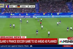 England v. France soccer game to go ahead