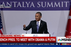Obama Rejects Calls for U.S. Troops to...