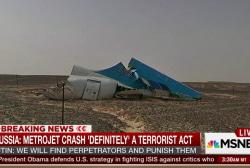 Russia: Metrojet crash 'definitely'...