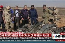 Bomb responsible for Russian plane crash