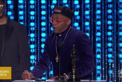 Spike Lee lashes out at the lack of diversity