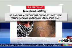 ISIS spy possibly trained Paris attackers