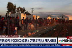 Gov. shares concerns over Syrian refugees