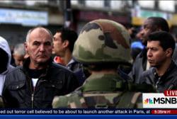 Saint-Denis residents react to raid