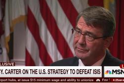 Defense Secretary Carter: We will defeat ISIL