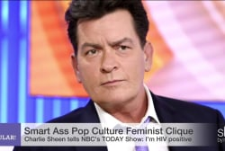 The Clique: Media coverage of Charlie Sheen