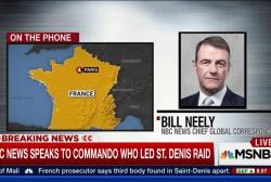 NBC News speaks with St. Denis raid commando