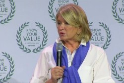 Martha Stewart: Have confidence in your...
