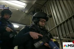 NYPD conducts active shooter drill