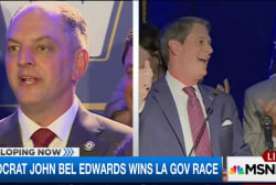 Dem John Bel Edwards wins LA governor race