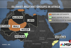 Armed militant groups expand across Sahara