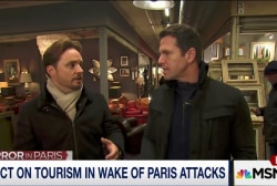 Impact on Paris tourism in wake of attacks